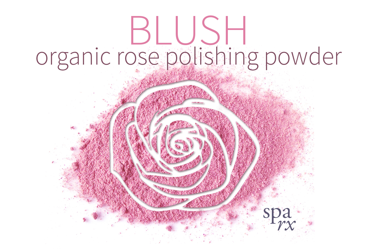 BLUSH SpaRx product poster