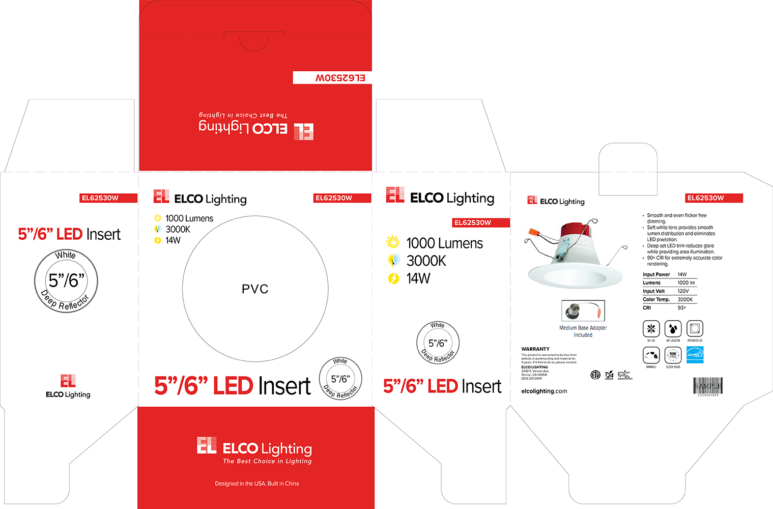 Package designs for boxed lighting